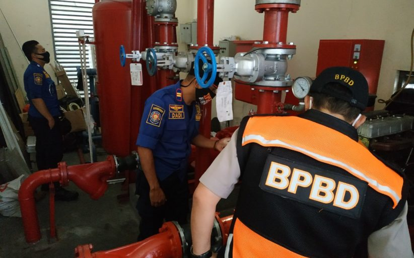 BPBD Kota Sukabumi Menggiatkan Inspeksi Proteksi Bencana dan Kebakaran di Gedung